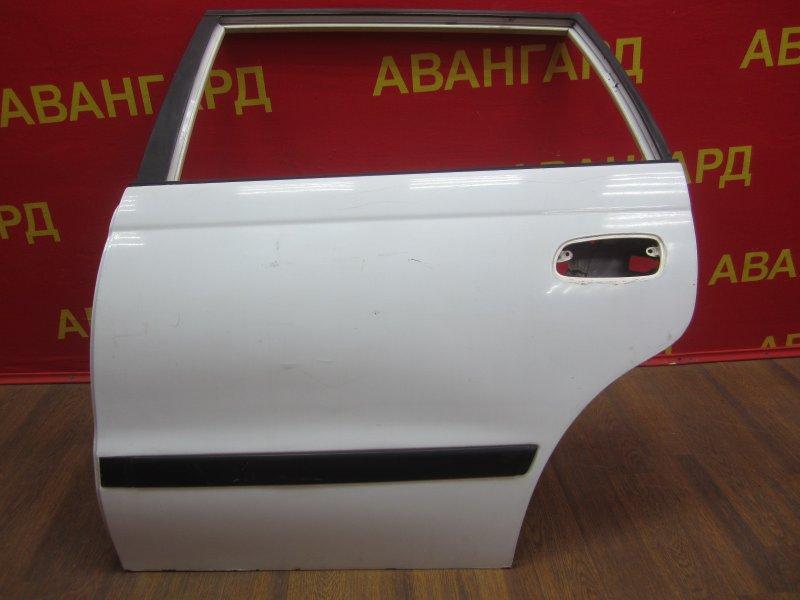 Дверь Toyota Caldina 190 1994 задняя левая