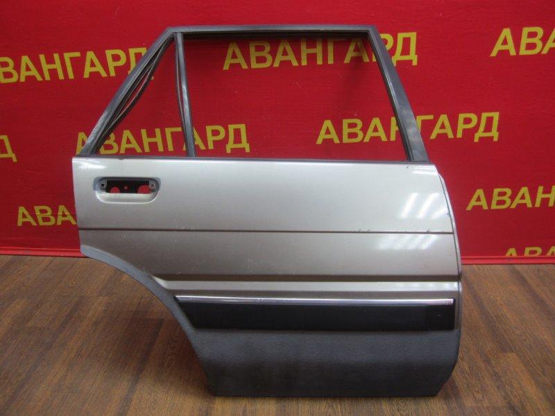 Дверь Toyota Corolla 80 1989 задняя правая