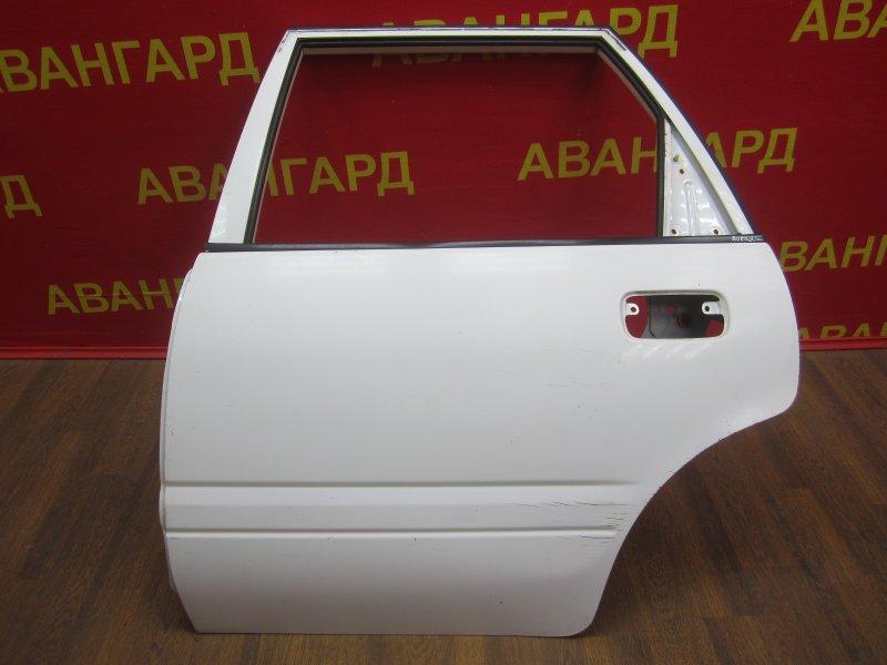 Дверь Nissan Avenir 10 1997 задняя левая