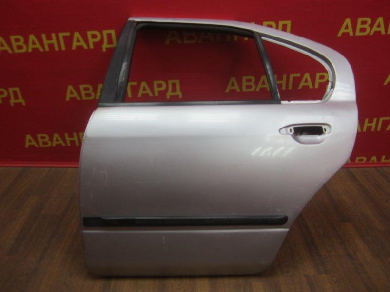 Дверь Nissan Primera P11 1998 задняя левая