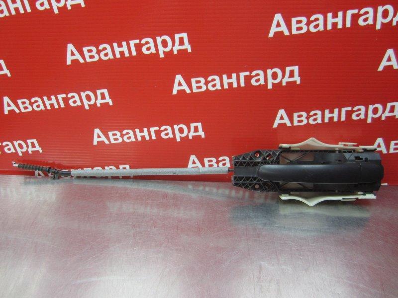 Ручка двери наружная Skoda Rapid 2014 задняя левая
