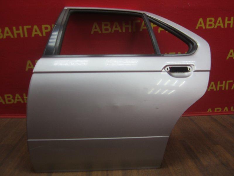 Дверь Nissan Bluebird U14 1998 задняя левая