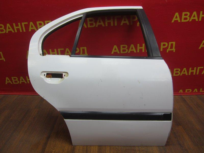Дверь Nissan Primera P10 1994 задняя правая
