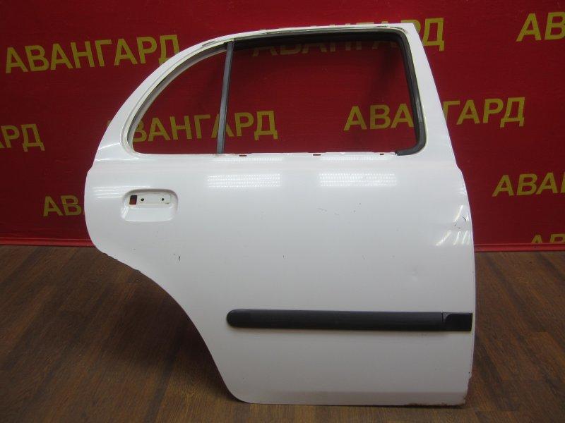 Дверь Nissan March K11 1998 задняя правая