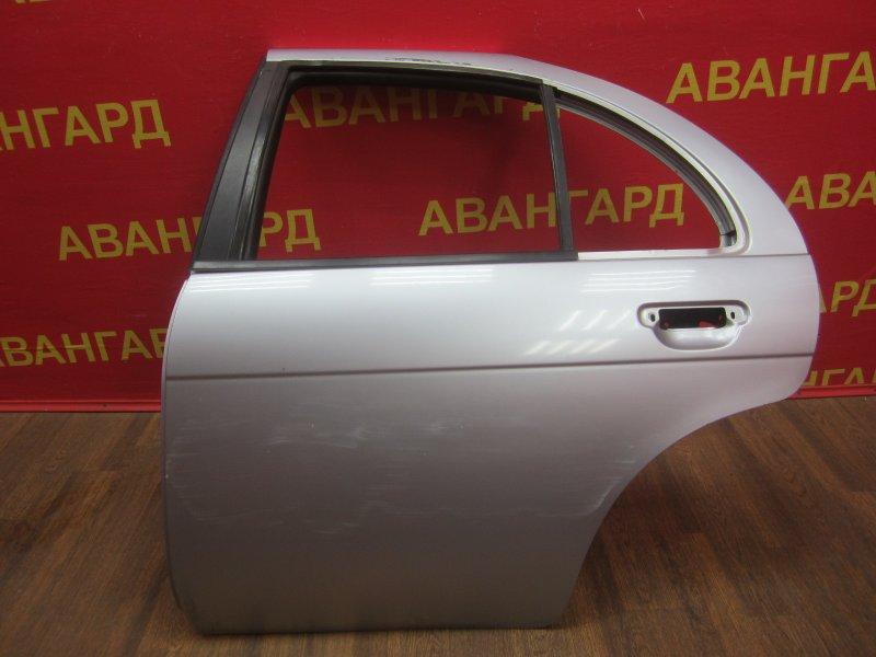 Дверь Nissan Pulsar N15 2000 задняя левая