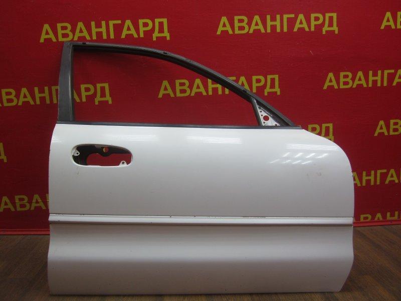 Дверь Mitsubishi Galant 7 E57A 1992 передняя правая