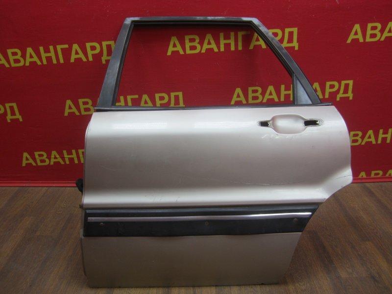 Дверь Mitsubishi Galant 6 1990 задняя левая