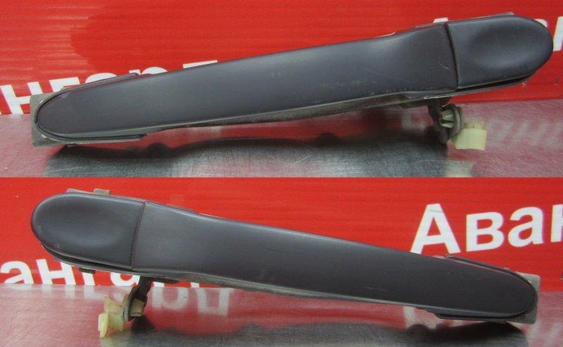 Ручка двери наружная Mitsubishi Galant 6 1990 передняя