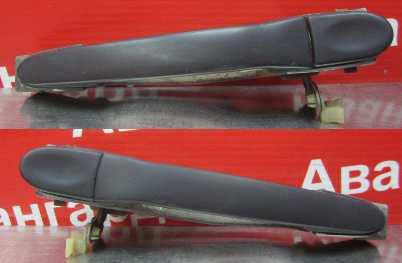 Ручка двери наружная Mitsubishi Galant 6 1990 задняя