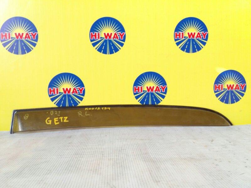 Ветровик Hyundai Getz TB G4EA задний левый