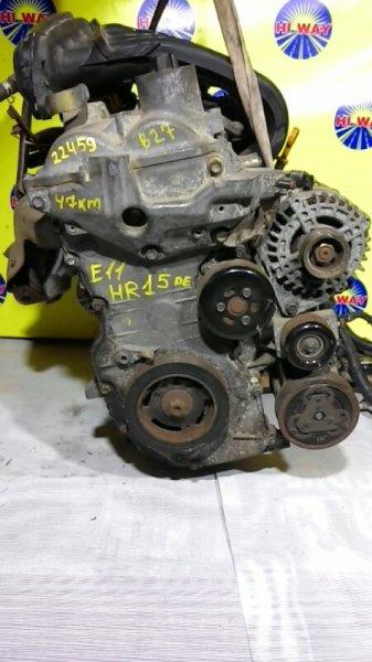 Двигатель Nissan Bluebird Sylphy G11 HR15DE 2004