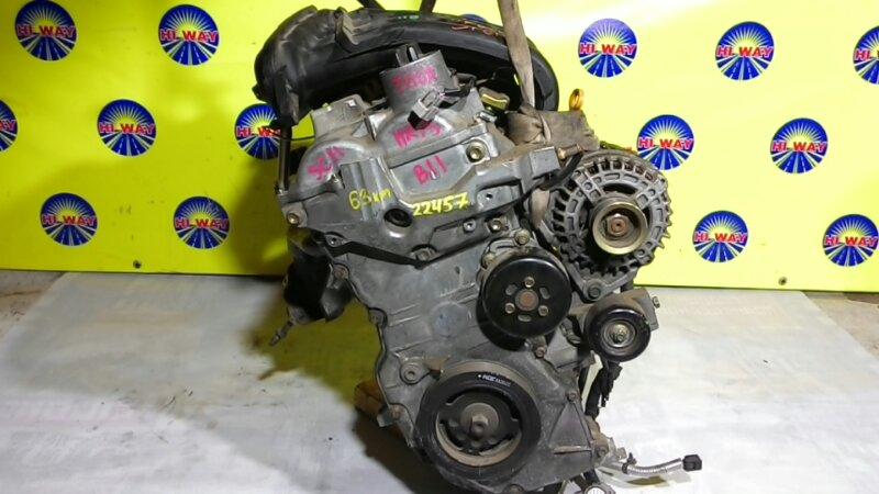Двигатель Nissan March Y12 HR15DE 2004
