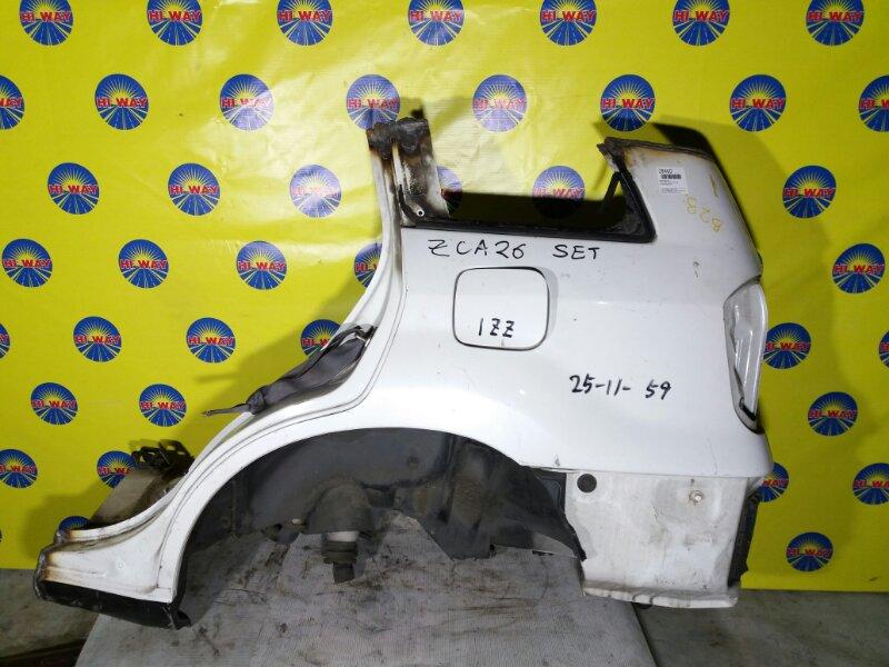Крыло Toyota Rav 4 ZCA26W 1ZZ-FE заднее левое