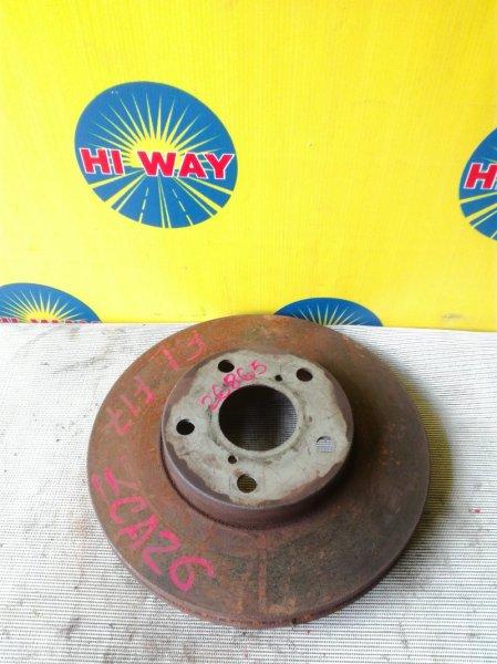 Диск тормозной Toyota Rav 4 ZCA26W 1ZZ-FE передний
