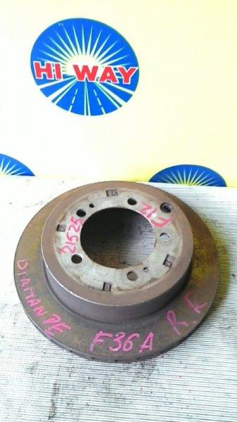 Диск тормозной Mmc Diamante F36A 6G72 задний