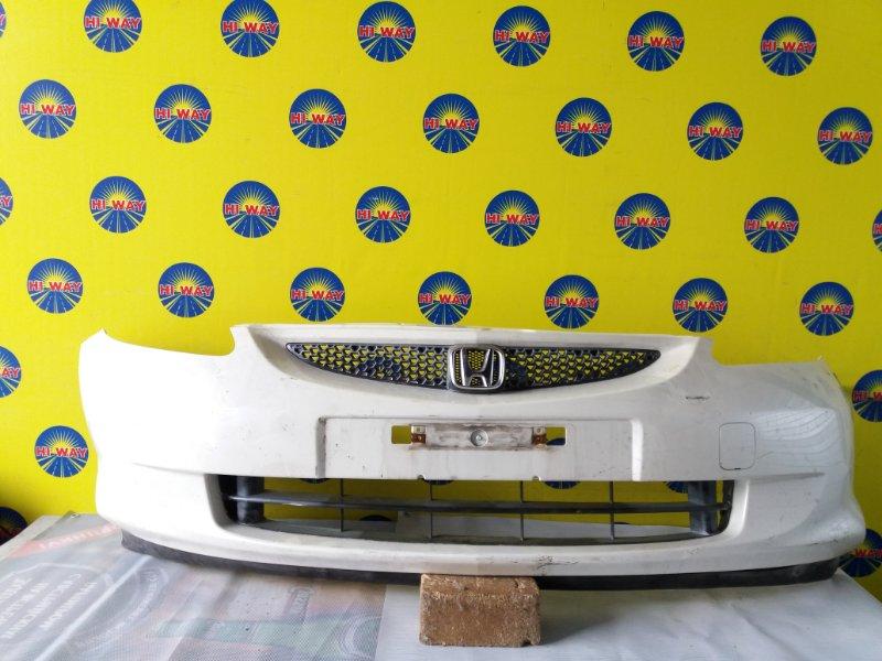 Бампер Honda Fit GD1 2004 передний