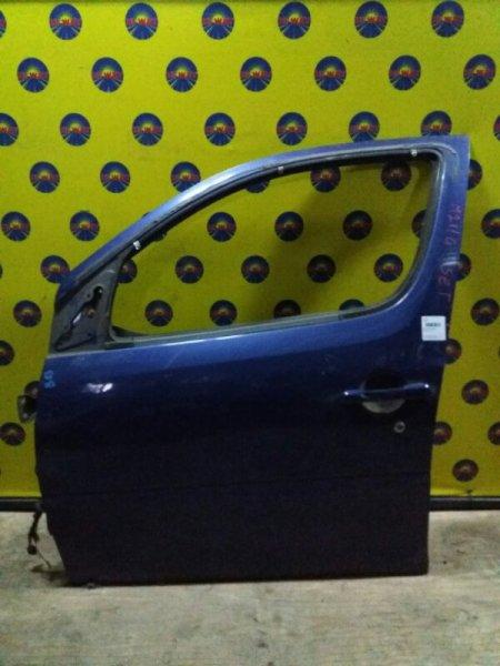 Дверь боковая Daihatsu Yrv M200G передняя левая
