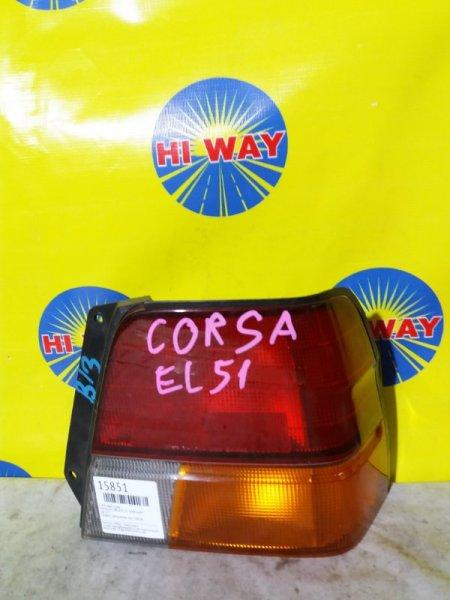 Стоп Toyota Corsa EL51 1994 задний правый