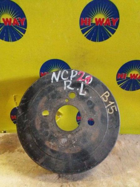 Барабан тормозной Toyota Porte NNP11 2NZ-FE задний