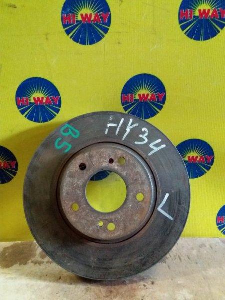 Диск тормозной Nissan Gloria HY34 VQ30DD передний