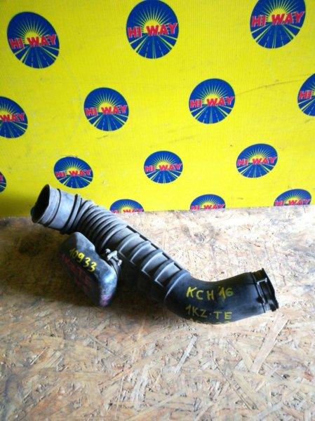 Патрубок воздушного фильтра,гофра воздушного фильтра Toyota Granvia KCH16 1KZ-TE