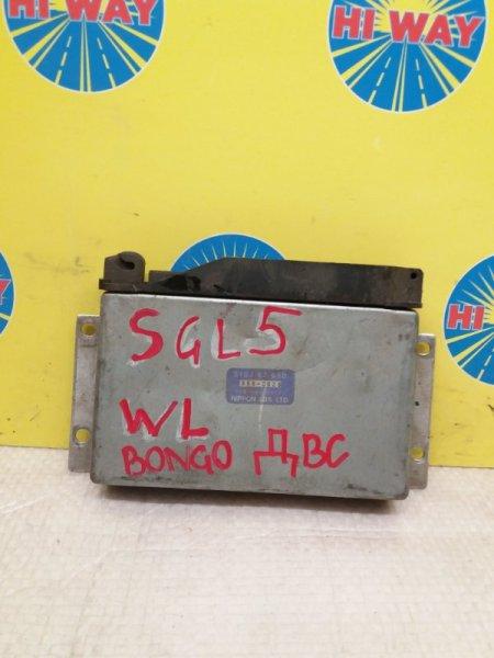 Блок управления двс Mazda Bongo Friendee SGL5 WL-T