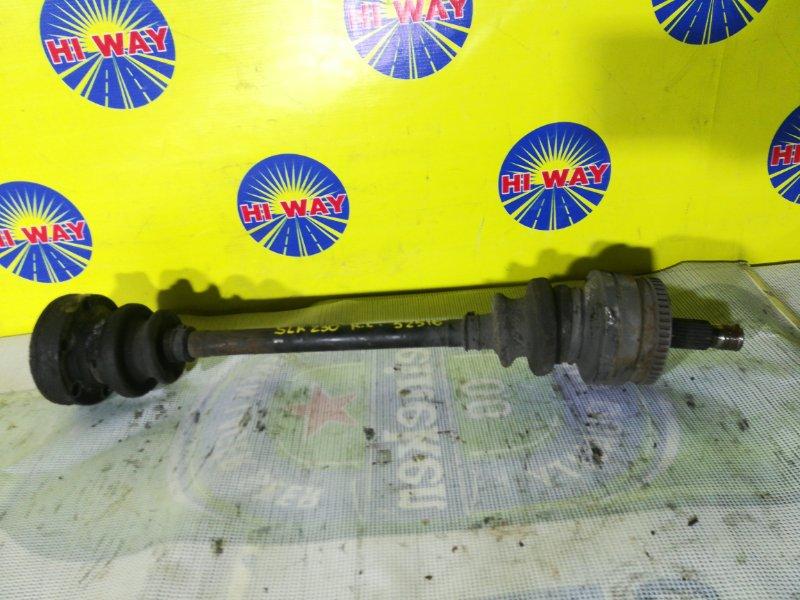 Привод Mercedes-Benz Slk230 R170 111.973 задний левый