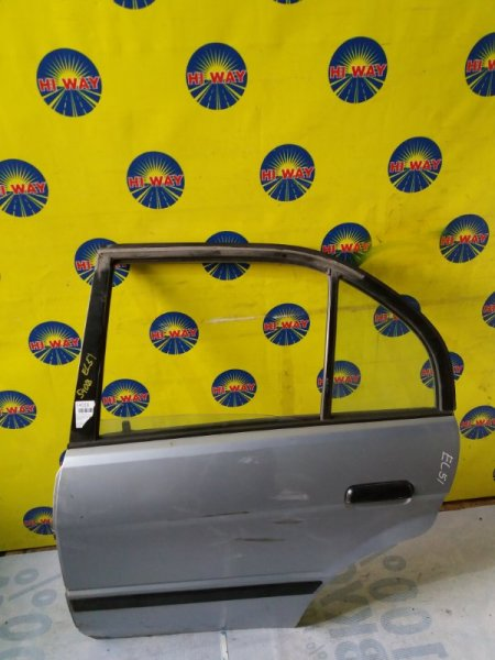 Дверь боковая Toyota Corsa EL51 1994 задняя левая