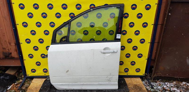 Дверь боковая Nissan Lafesta B30 MR20DE 2007 передняя левая