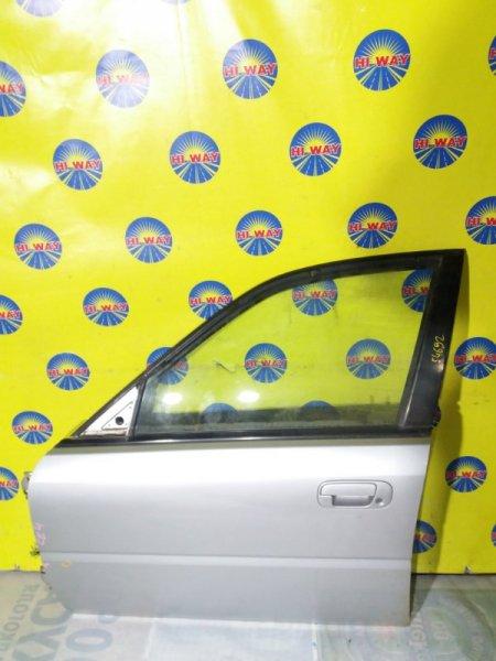 Дверь боковая Honda Rafaga CE4 G20A 1993 передняя левая