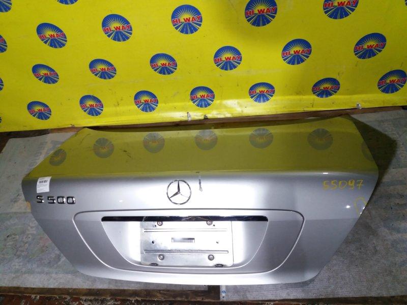 Крышка багажника Mercedes-Benz S500 W220 M112E37 1999