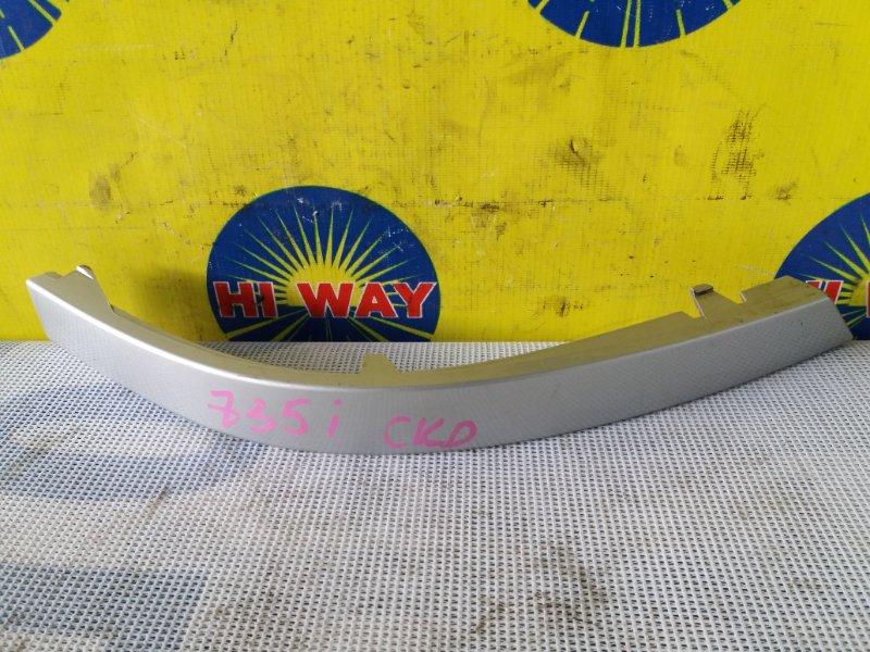Планка под фонарь Bmw 735I E65 2001 задняя левая
