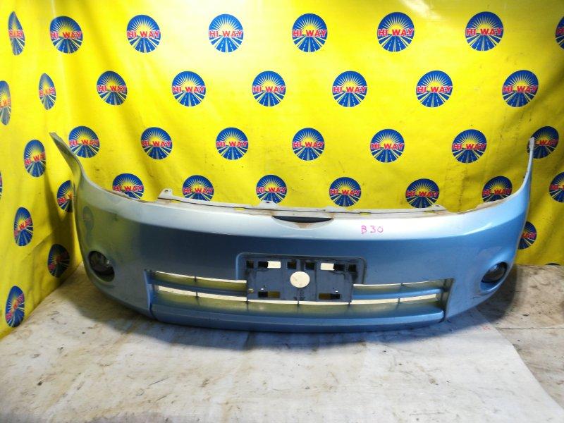 Бампер Nissan Lafesta B30 2004 передний