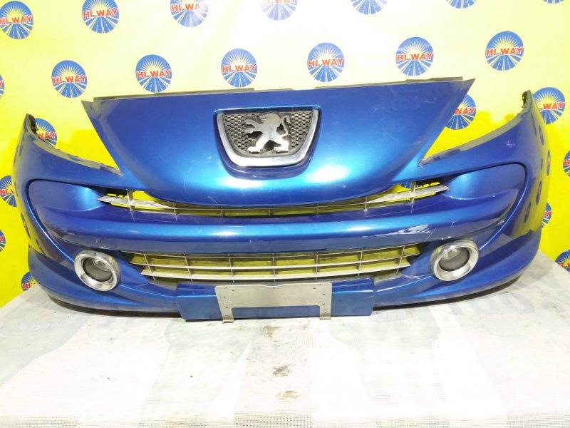 Бампер Peugeot 207 WA 2007 передний