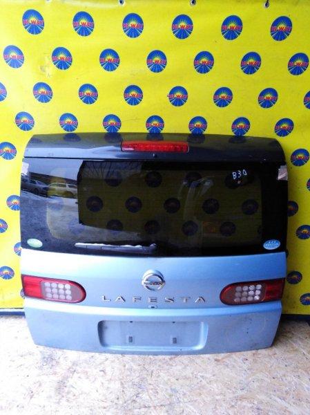Дверь задняя Nissan Lafesta B30 2007