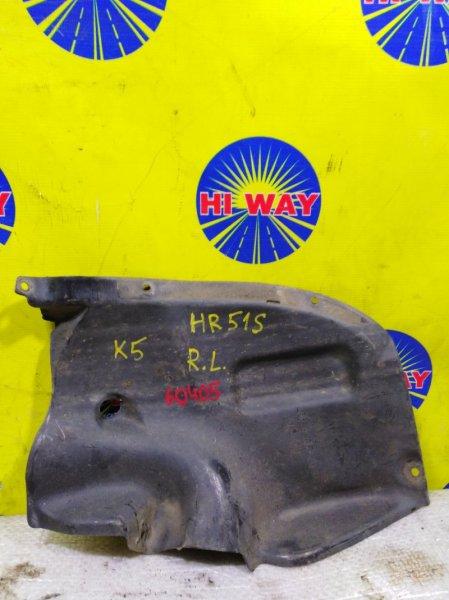 Подкрылок Chevrolet Cruze HR51S 2001 задний левый