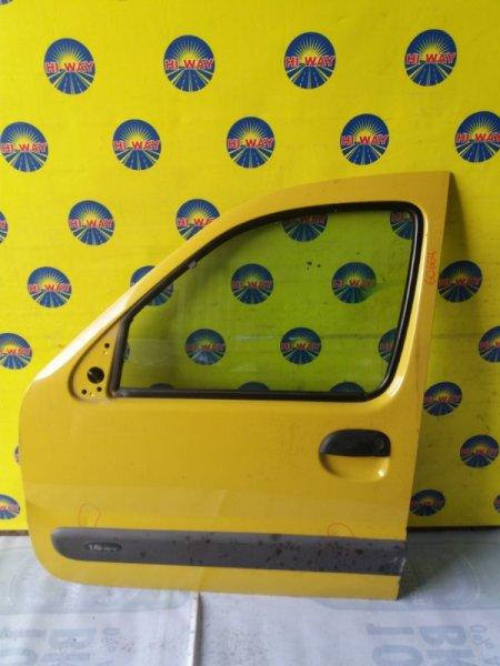 Дверь боковая Renault Kangoo KC 2003 передняя левая