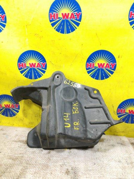 Защита двс Nissan Bluebird U14 1996 передняя правая