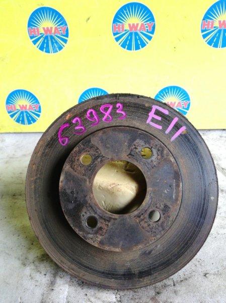Диск тормозной Nissan Note E11 HR15DE передний