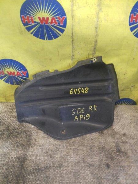 Подкрылок Honda Fit Aria GD6 2002 задний правый