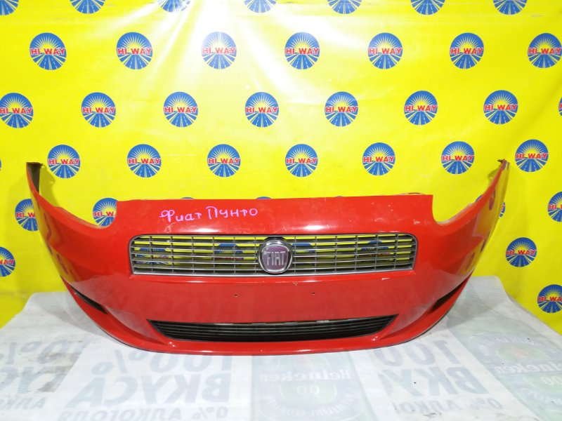 Бампер Fiat Punto 2005 передний