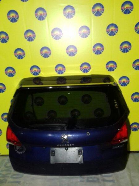 Дверь задняя Peugeot 2008 2014 задняя