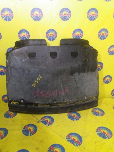 Защита двс Bmw 750I E65 N62B48B 2005 передняя