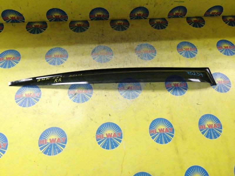 Ветровик Bmw 750I E65 2005 задний правый