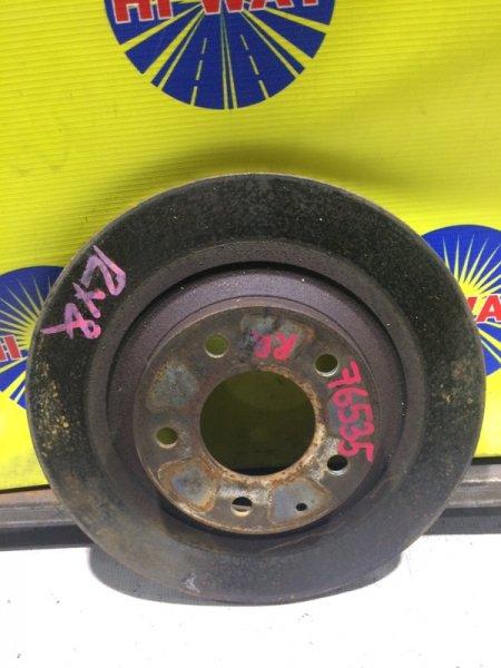Диск тормозной Mazda Rx-8 SE3P 13B-MSP 2003 задний