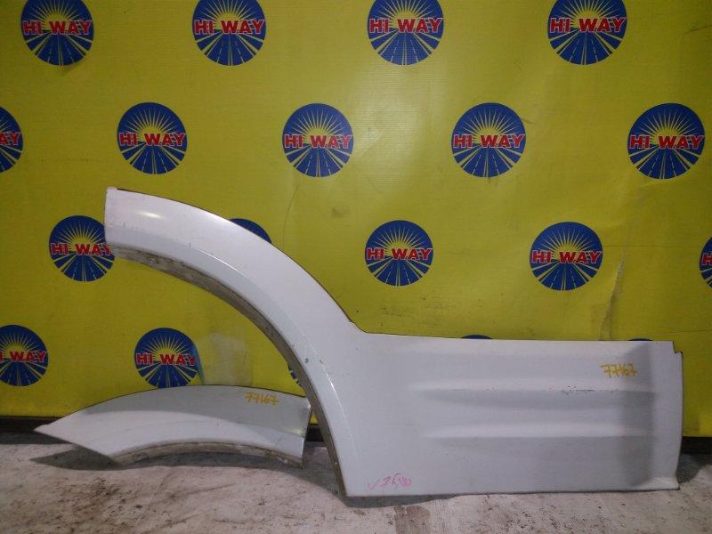 Накладка двери Mmc Pajero V75W 1999 задняя правая