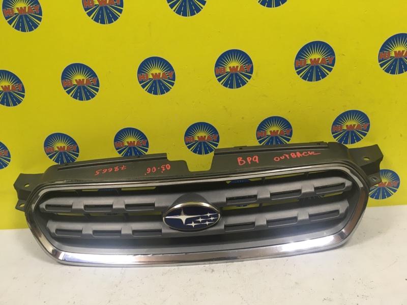 Решетка радиатора Subaru Legacy Outback BP9 2003