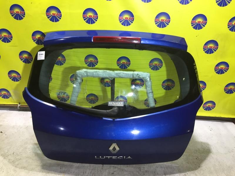 Дверь задняя Renault Clio BR02 2009 задняя