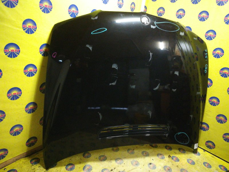 Капот Bmw 735I E65 2001