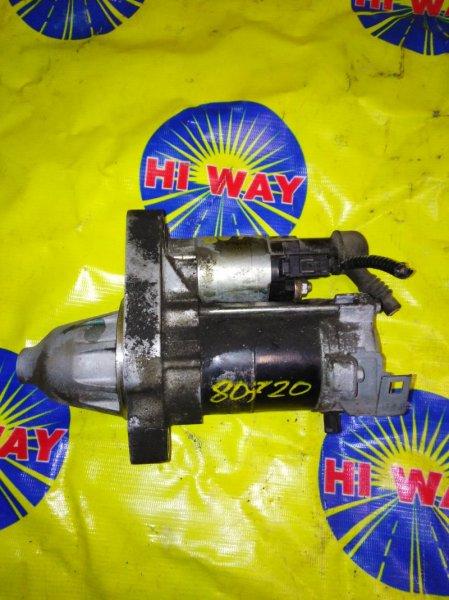 Стартер Honda Stream RN6 R18A 2005